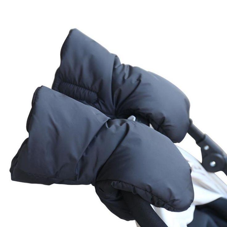 Gloves Kids Pram Stroller Winter Accessory Hand Muff Warm Fur Fleece Gloves Pushchair Hand Muff kids Buggy Clutch Cart Muff