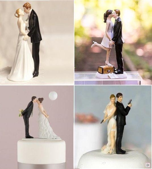 figurine mariage humoristique original