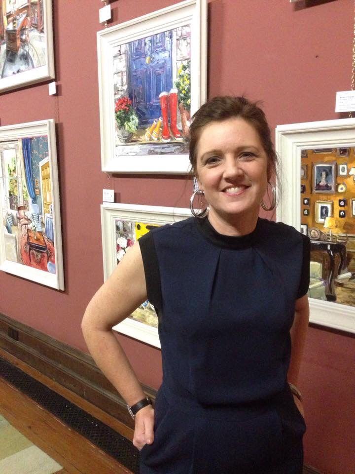 Róisín O'Farrell - Castle Leslie Show  November 2014