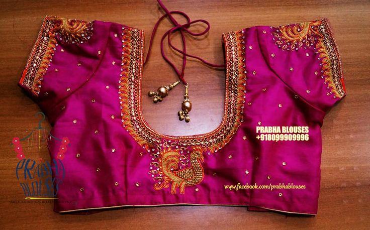 Prabha blouses. Hyderabad.  12-6-211/3 viveknagar kukatpally.   Contact :  080999 09996.   Email : prabha.blouses@gmail.com. 05 May 2017