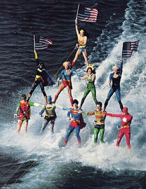 Justice League of America - wonder if they could work this into Big Bang Theory??