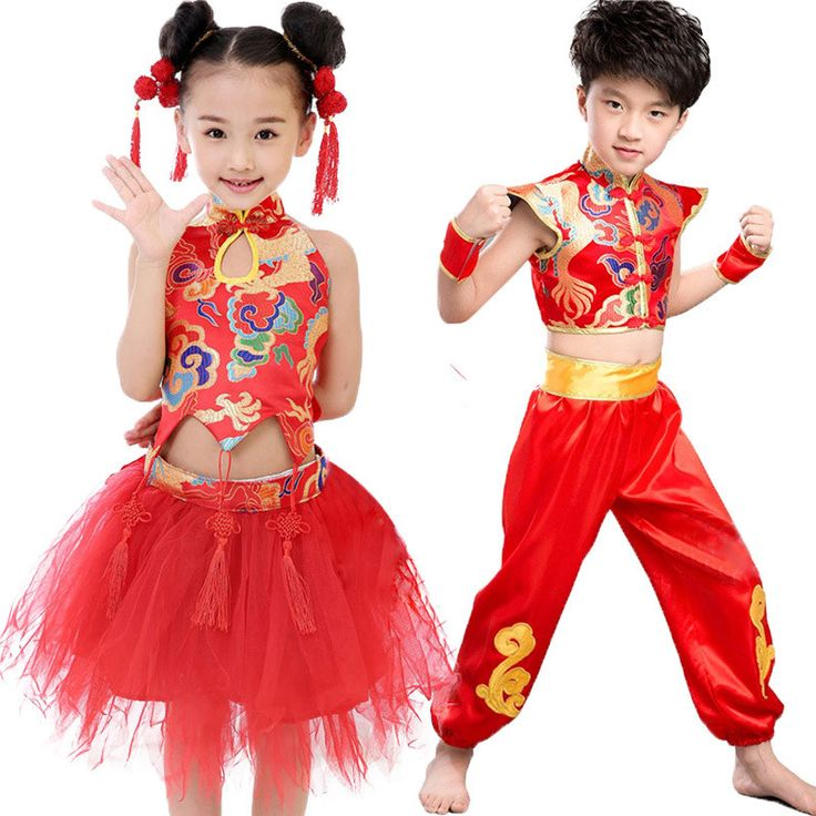 Girls-Boys-Chinese-New-Year-Costume-Clothes-Dress-Suit-Sets-Size-100-140-for-2-10.jpg (800×800)