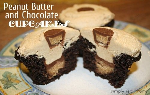 Chocolate cupcakes, Best peanut butter and Peanut butter frosting on ...