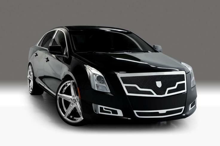 Custom Wheels for Cadillac XTS | Founder's Court | Luxe: Lexani ...