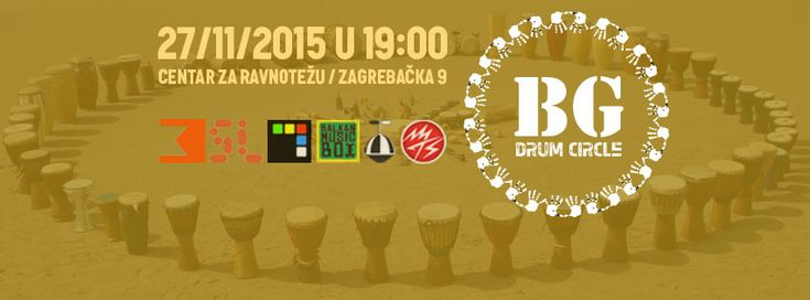 Dođite na BG Drum Circle