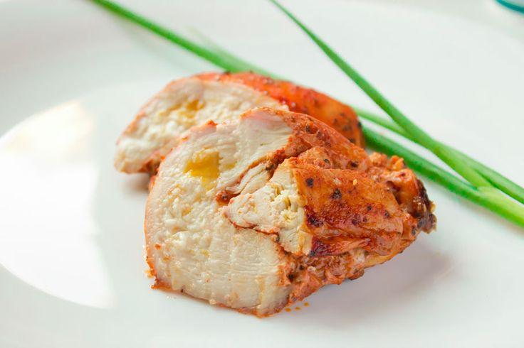 Куриная грудка с апельсином запеченная в духовке