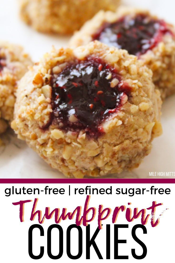 The Classic Easy Thumbprint Cookie Is Transformed Into A Gluten
