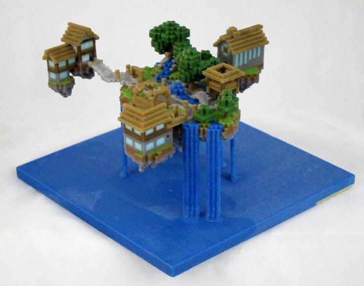 Minecraft Water House