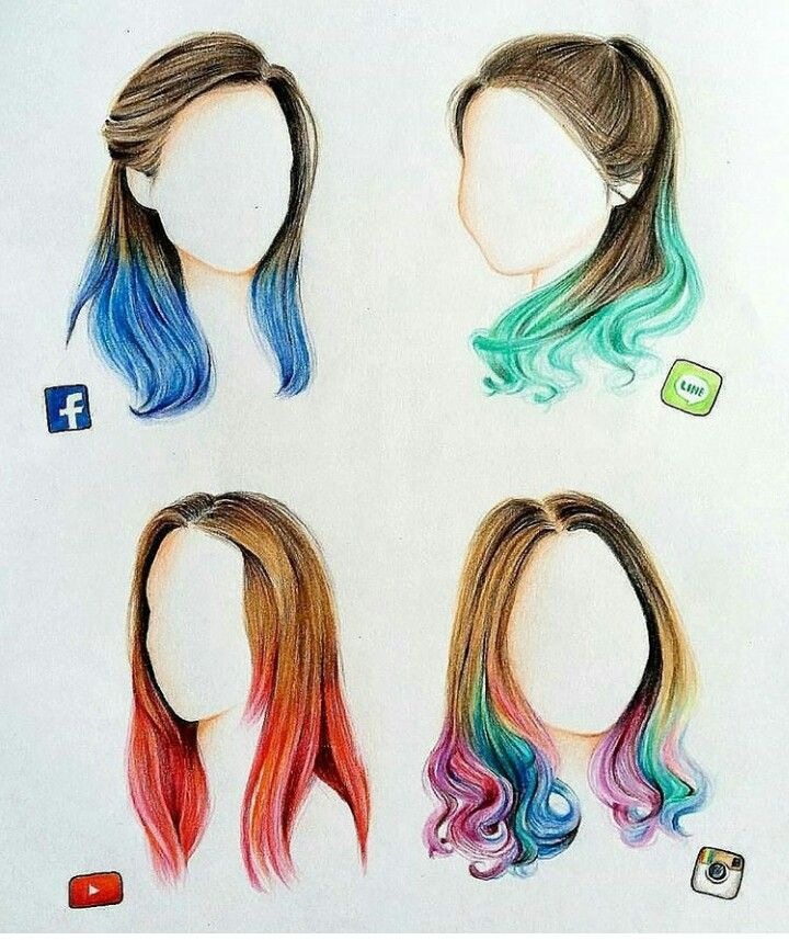 Social media+hairestyles =cool hairestyles
