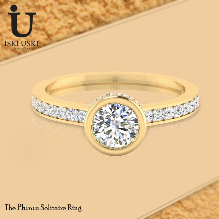 Wedding season is fast approaching, with all our wedding Rings made to order, they are as unique as the vows you make.#SolitaireRings #GoldRings #Rings #IskiUski