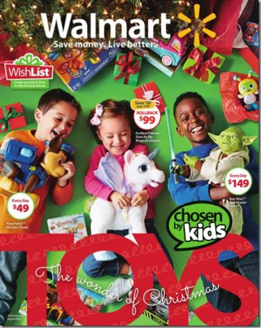 2015 Walmart Toy Book Christmas Catalog is Out!