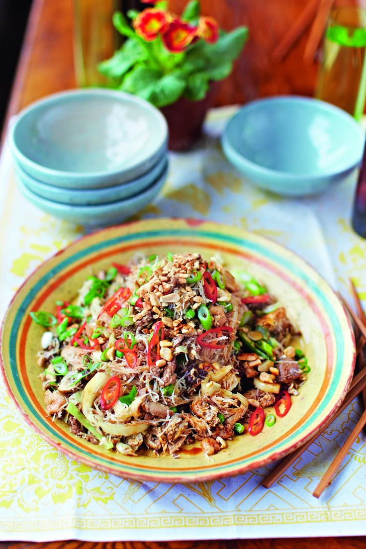 Singapore Noodles - The Happy Foodie