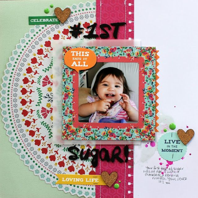 Kaisercraft Fiesta Layouts (Artfull Crafts) - Melissa Vining