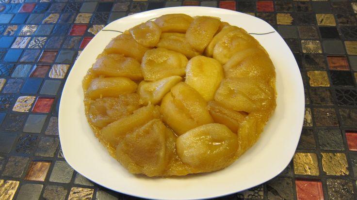 Яблочный пирог - французский перевертыш. Тарт Татен. Совместный проект  ...