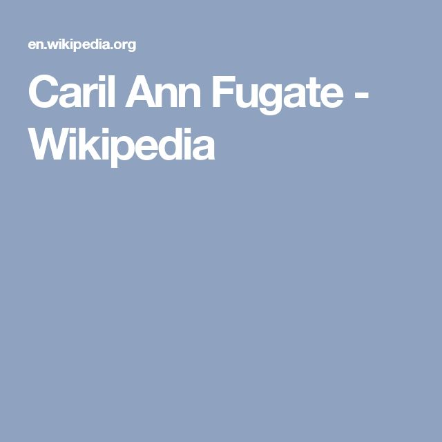 Caril Ann Fugate - Wikipedia