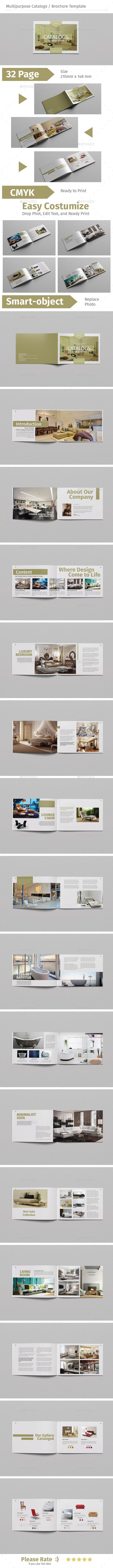 Multipurpose Catalogs / Brochure Template  — PSD Template • Only available here…