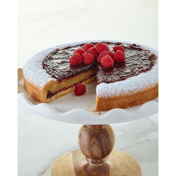 Sweet Lady Jane Raspberry Marzipan Tart (555 SEK) ❤ liked on Polyvore featuring home, kitchen & dining and sweet lady jane
