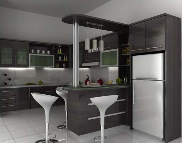 Dapur Rumah Type 45 Minimalis