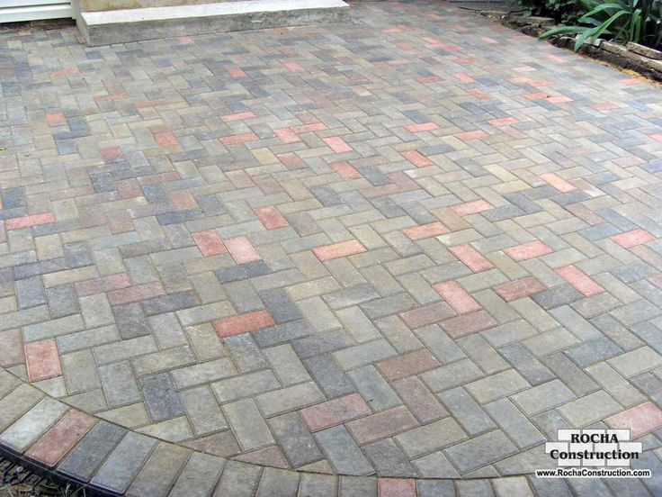 High Quality Patio Designs With Pavers Photos | For Paver Patio Applications, Make Sure  That The Base