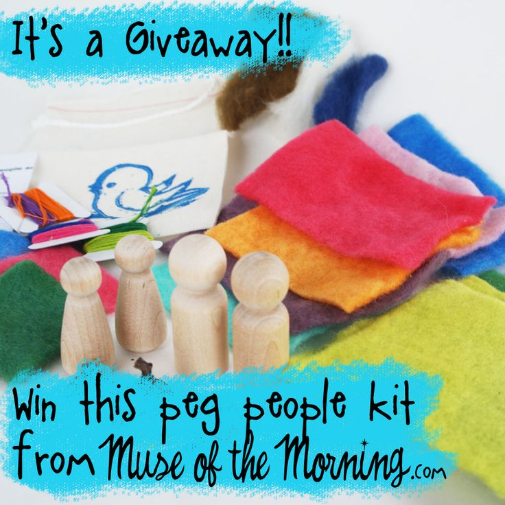 It's a Giveaway and a Coupon Code For You! | Muse of the Morning Crafty Kits, Wool Felt & PDF Sewing Patterns