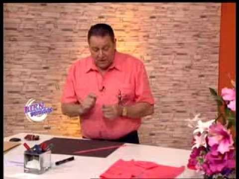 Hermenegildo Zampar - Bienvenidas TV - Explica como coser la cintura del...