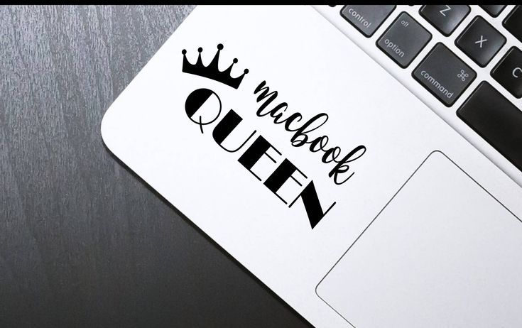 Decal [Macbook Queen], Laptop decal, Macbook decal, sticker, iphone sticker,  Stickers for Boss Babes, Laptop vinyl sticker, iphone decal, by SexyandMotivated on Etsy