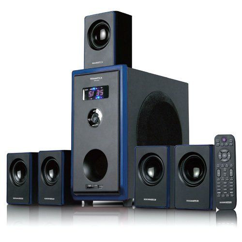 Acoustic audio aa5102 800w 5 1 channel home theater - Home theater sound system design ...