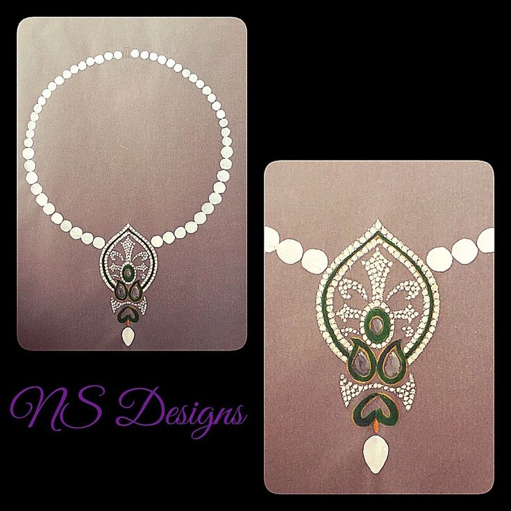 Intricately designed ..pearls and uncut diamonds with green enamel..