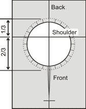 Neck Hole Placement