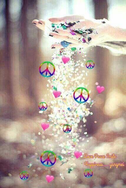 Peace Sign Art ✌❤                                                       …