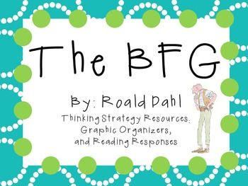 Everything you need for a novel study on The BFG by Roald Dahl! There are many ways that you can use these resources. You can copy as an entire packet or you can copy pages individually! This can be for a small book club, or for the whole class!