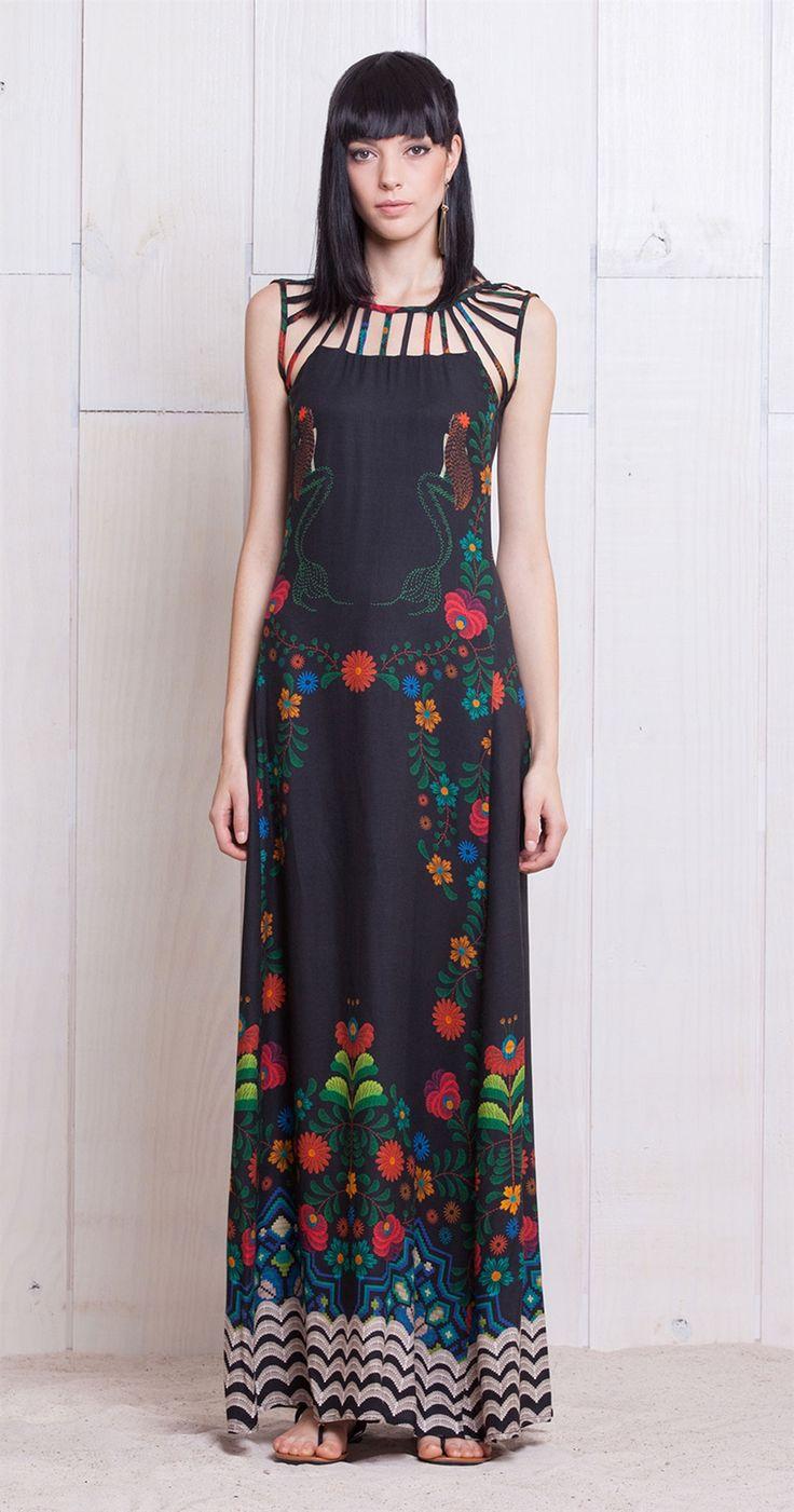 Vestido Longo Iara | Lookbook | Antix Store                                                                                                                                                      Mais