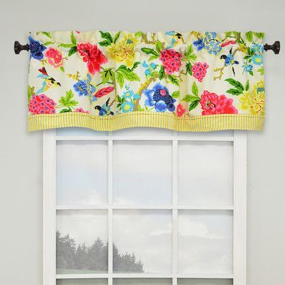 "Waverly Charmed 52"" Lined Curtain Valance"