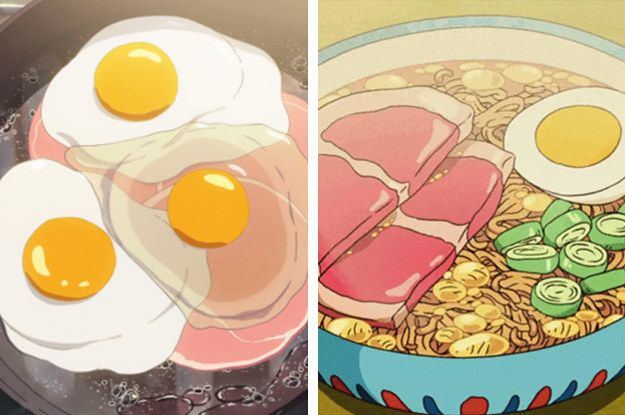 21 Photos That Prove Anime Food Looks Better Than Real Food Real Food Recipes Food Food Illustrations
