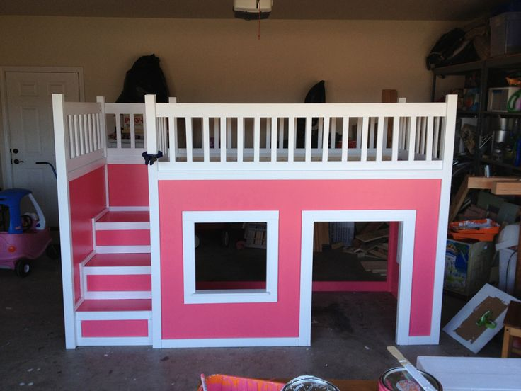 Loft Bed Girls : Girl loft bed  Girl Loft Bed  Pinterest