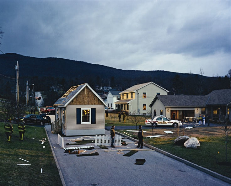Gregory Crewdson - House in the Road