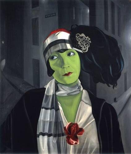 Pyke Koch | Portrait of Asta Nielsen, 1929