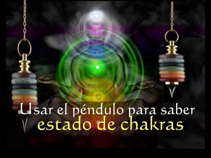 Como usar un pendulo para saber el estado de los chakras