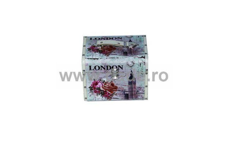 Set 2 casete de bijuterii LONDON-big