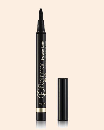 FLORMAR Eyebrow Liner Kaş Kalemi 001 Siyah