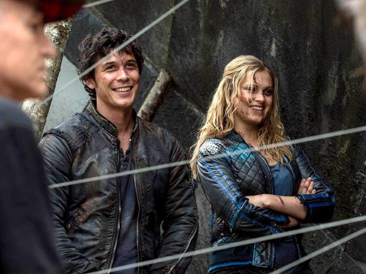 The 100 season 2 episode 5 - Human Trials - Behind the Scenes || Bob Morley and Eliza Taylor || Bellamy Blake and Clarke Griffin || Bellarke