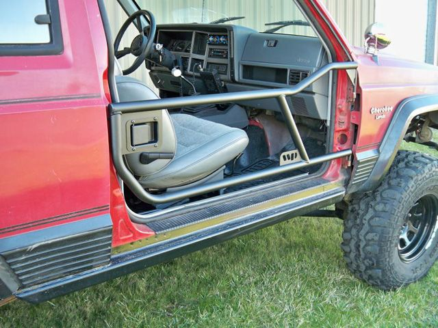 Jeep Cherokee XJ Tube Doors. Both front and back.