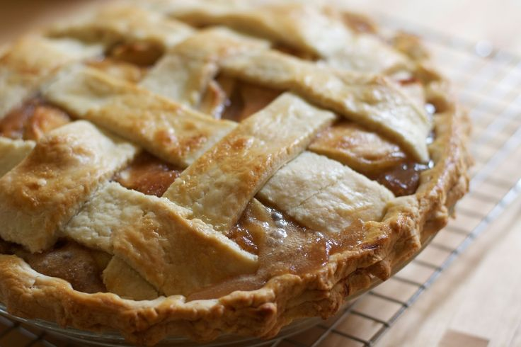 Salted Caramel Apple Pie | The Baker Chick