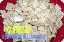 lemon puppy chowLemon Buddy, Sweets Treats, Lemon Chex, White Chocolate, Six Sisters Stuff, Chex Mixed, Puppies Chow, Muddy Buddy, Chex Lemon