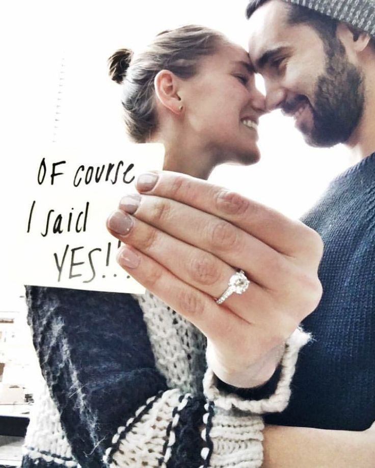 The most-awaited moment for every girls out there when your man finally say the word! And of course I said YES!! Tag your friend and share your happiness right now! Go go go! Image via @gabrielleeed by weddingdream on Instagram