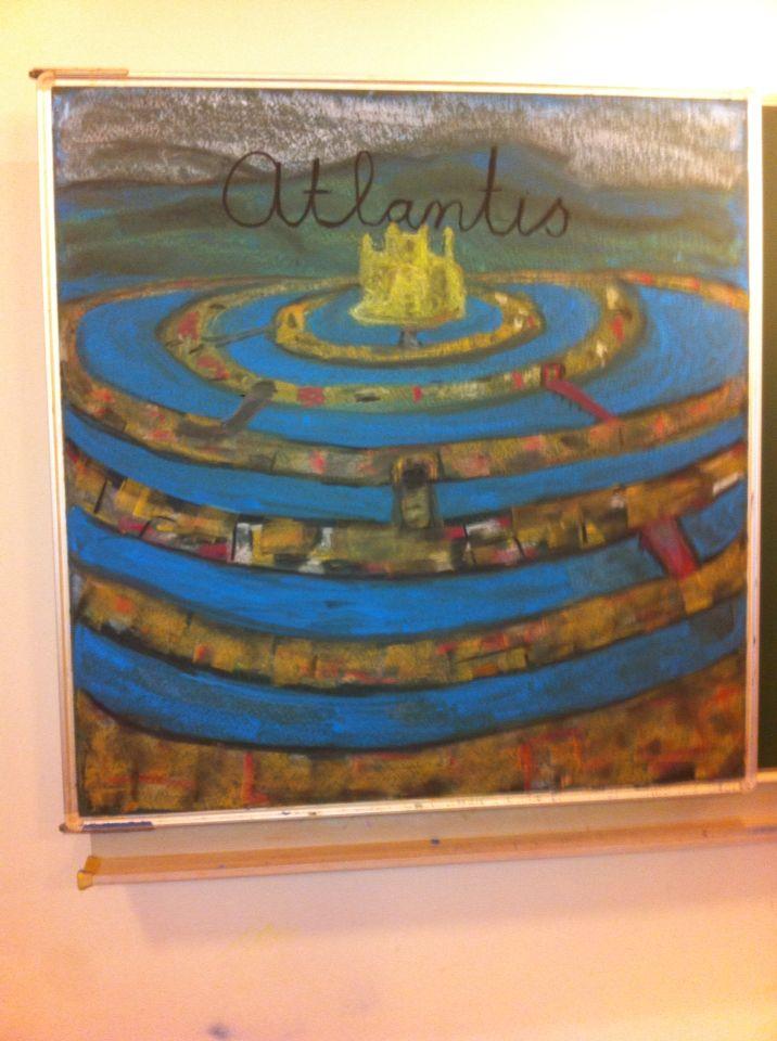Periode oude culturen in klas 5: Atlantis volgens Plato.