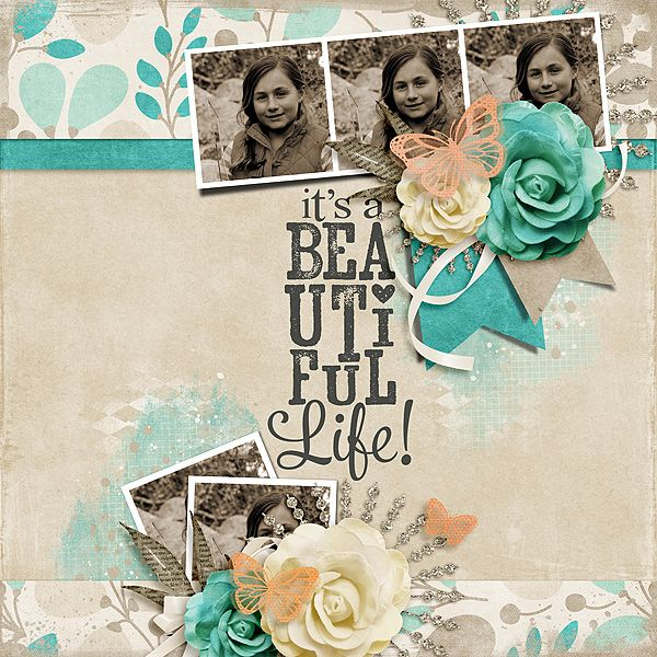 Beautiful LifeLolly Bag PU - See The Beauty by Fayette Designs Template: March Sketch Template by The Nifty Pixel