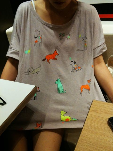 designer clothes online Dog tee