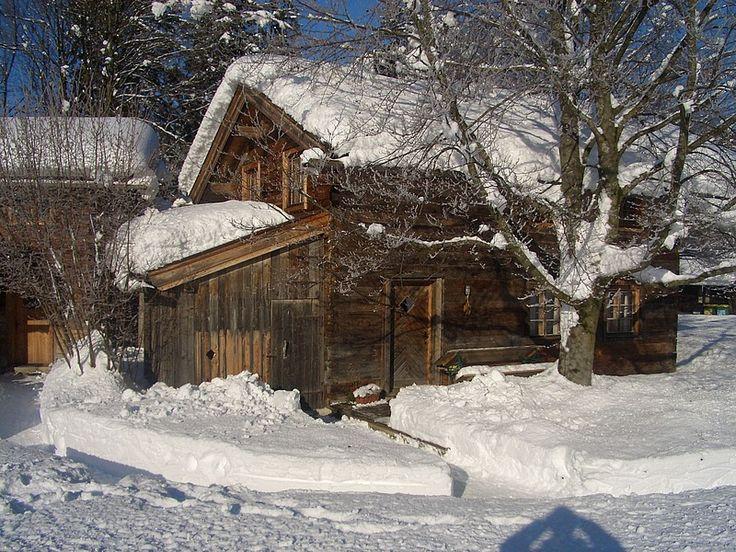 Steinbach Stube am Grubhof im Winter