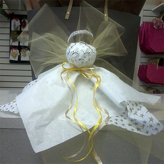 DIY: Creative's angel for the holidays!